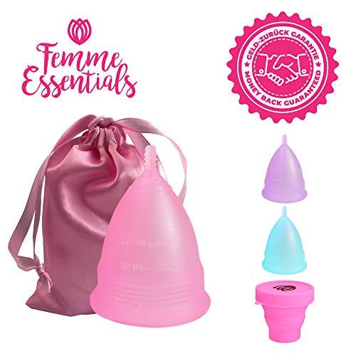 Femme Essentials Copa Menstrual Silicona Hipoalergénica