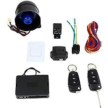banbie8409 Dispositivos antirrobo para vehículos con sistema de alarma de automóvil universal ...