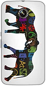 Timpax protective Armor Hard Bumper Back Case Cover. Multicolor printed on 3 Dimensional case with latest & finest graphic design art. Compatible with Google Nexus-6 Design No : TDZ-27569