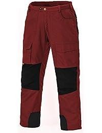 Pinewood Himalaya - Pantalones de escalada para niño, color rojo, talla UK: 72-80 cm waist