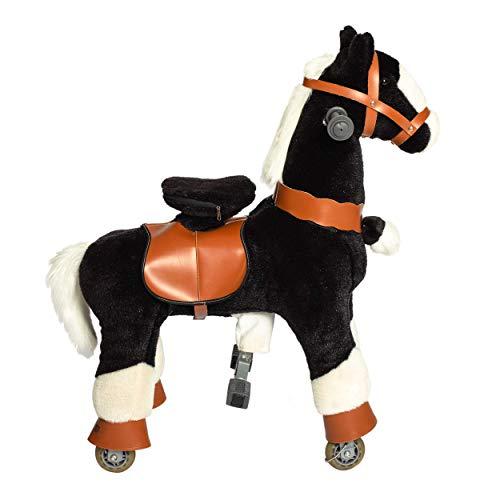 Galoppo Spielpferd mit Rollen für Kinder ab 2 Jahren in der Größe Small - XXL Reitpferd zum Reiten und Spielen im Haus und auf der Straße