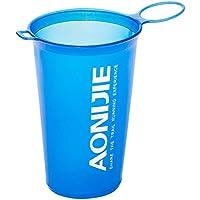 Lixada AONIJIE BPA Free Taza Plegable Del Agua Suave para El Ciclo Al Aire Libre Del Maratón de Los Deportes 200ML