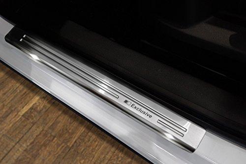 Preisvergleich Produktbild Tuning-Art L224 Edelstahl Ladekantenschutz und EX129 Einstiegsleisten fahrzeugspezifische Passform
