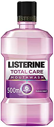 LISTERINE, Mouthwash, Total Care, Clean Mint, 500ml