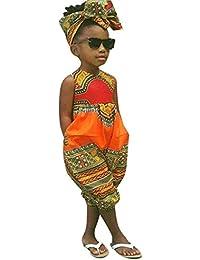 a741af9657 Mono y Diadema de Estilo Africano para bebé niñas