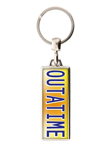 Schlüsselring Outatime 2x5.4cm. Inspiriert von Zurück in die Zukunft (Schuhe Aus Zurück In Die Zukunft)