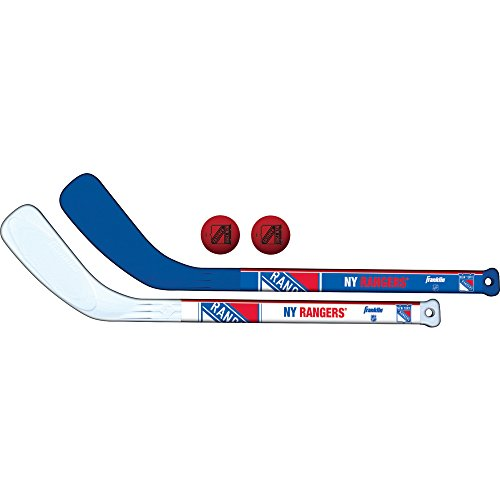 Franklin Sports NHL Team Mini-Hockeyschläger-Set, 2-teilig, Spielzeug, Navy, NA -