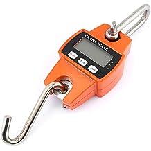 Crane Scale - Escala de pesaje de colgar y colgar de LCD digital, mini,