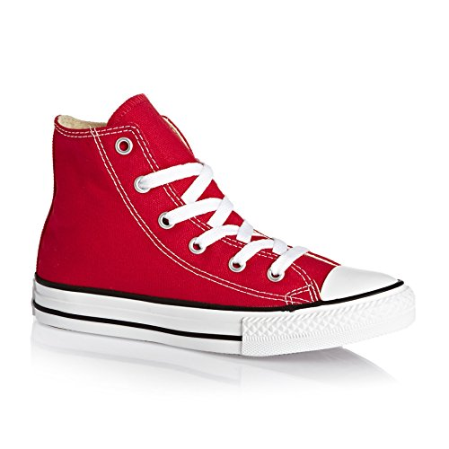 Converse - Youths Chuck Taylor All Star Hi - Sneakers Basses - Mixte Enfant red