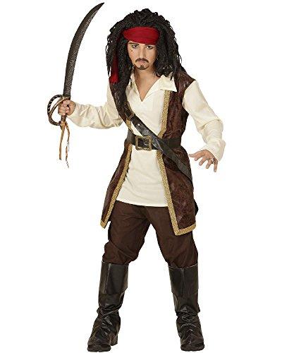 Caribbean Pirate Unisex Costume 140cm Film Fancy Dress (Bei Den Filmen Fancy Dress Kostüme)