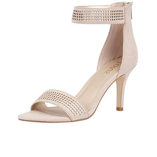 Lotus - Elmas, Strap alla caviglia Donna Nude/Silver