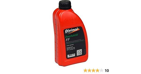 Divinol Zweitaktöl Ff 1x1 Liter 2 Taktöl Teilsynthetisch 2t Mischöl Auto
