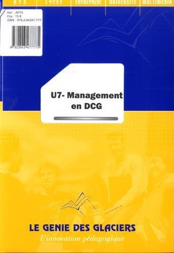 U7 management en DCG