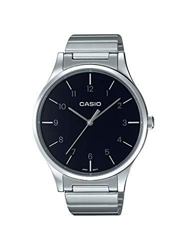 b8c954466eec Casio Reloj Analógico para Mujer de Cuarzo con Correa en Acero Inoxidable  LTP-E140DD-