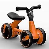 Laufräder Ausgewogenes Auto yo-yo Kinderwagen Kleinkind Kinderwagen Geburtstag Geschenk kinderspielzeug-orange 57cm