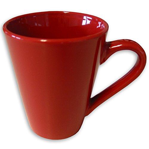 ROLLER Tasse - Rot - Keramik - 280 ml