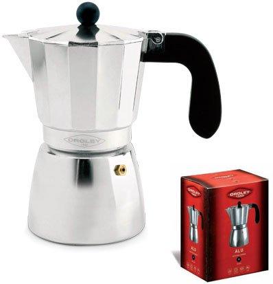 Oroley 215030200 - Cafetera Oroley Alu (3 tazas)