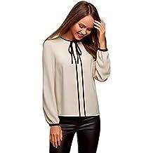Suchergebnis auf Amazon.de für  bluse mit schleife - Beige dd9e5f4c25
