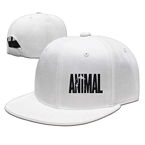 Buzuqu Animal Letter Print Stringer Bodybuilding Baseball Caps Snapbacks Plain Caps