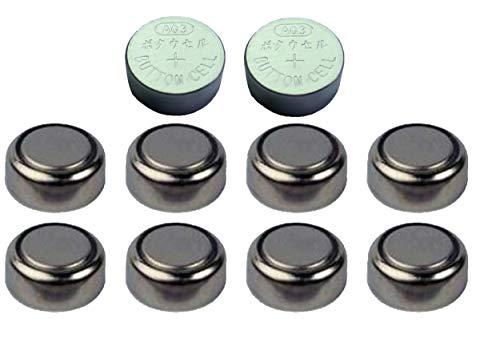 Alkaline-Knopfzellen AG3LR41247247B 280-18280-13WS4S13, 10 Stück