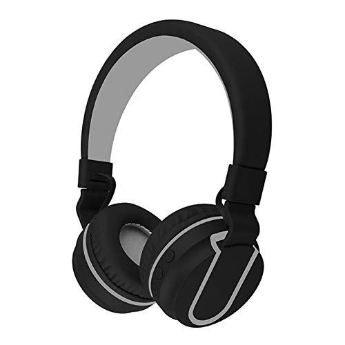 NESDNK Kabelloses Bluetooth-Headset Drahtloser Kopfhörer-Bluetooth-Stereo-Kopfhörer-Ohrhörer mit Mikrofon-Freisprechkopfhörer für iPhone Samsung-PC für Mädchen-Kopfhörer
