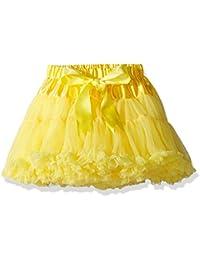 Buenos Ninos Baby Girl's Solid Color Dance Tutu Pettiskirt 1-10T