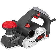 Skil 1565AA - Cepillo eléctrico para madera (720 W, anchura 82 mm, profundidad 0-2 mm, profundidad de rebaje 18 mm, conexión para aspirador integrada)