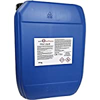 well2wellness® Chlor Liquid/Chlor flüssig stabilisiert mit 13% Aktivchlor, 22 kg