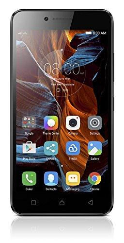 Lenovo K5 Smartphone Dual Sim, 2GB di Ram, 16GB di Memoria Interna, Display HD da 5 pollici, Fotocamera da 13 MP, Nero [Italia]