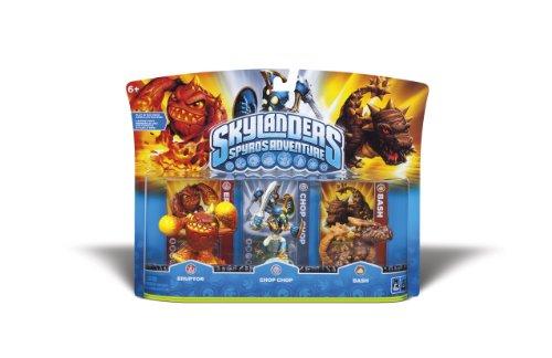 Skylanders Spyro's Adventure Adventure Pack [Eruptor, Chop Chop, Bash]