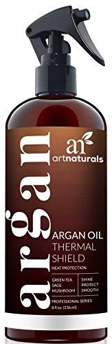 Avocado-Öl Mayonnaise (ArtNaturals Hitzeschutzspray Leave In Conditioner - ( 8 oz / 236 ml) - mit Reinem Arganöl - Schützt das Haar bei Anwendung von Glatteisen und Föhn - Sulfat-frei)