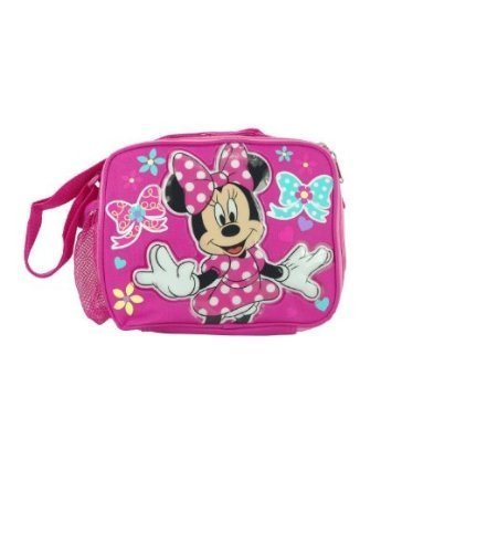 Disney Minnie Mouse Insulated Lunch Bag with Shoulder Strap