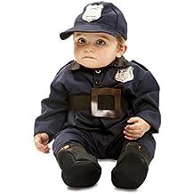 My Other Me - Disfraz de Policía para bebé, talla 7-12 meses (Viving Costumes MOM00922)