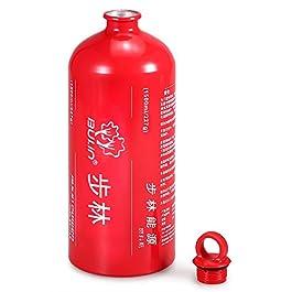 Explopur Bottiglia Vuota di combustibile 1500ML – Tanica Carburante per bombola di stoccaggio di Cherosene