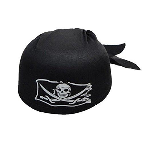 Black Temptation Halloween-Kostüm-Party Dress Up Pirate Hat Seemann Cap Cosplay-A1