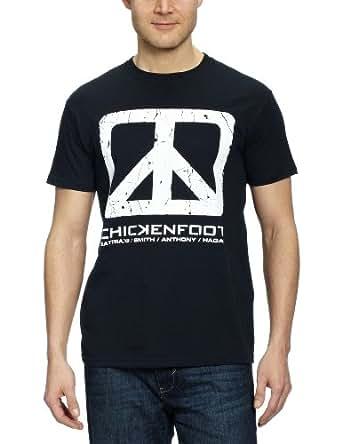 Collectors Mine Chickenfoot 8801TSBP Herren T-Shirt, Gr. 52 (L), Schwarz (Black)