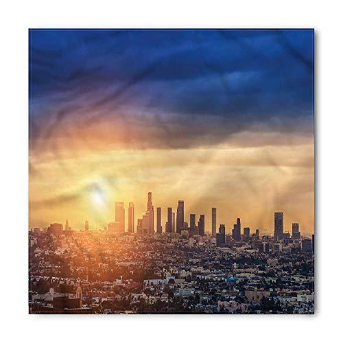 VVIANS City Bandana, Sunrise at Los Angeles, Unisex Head and Neck Tie