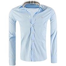 20ebce627d1 BURBERRY BRIT messieurs chemise cintrée