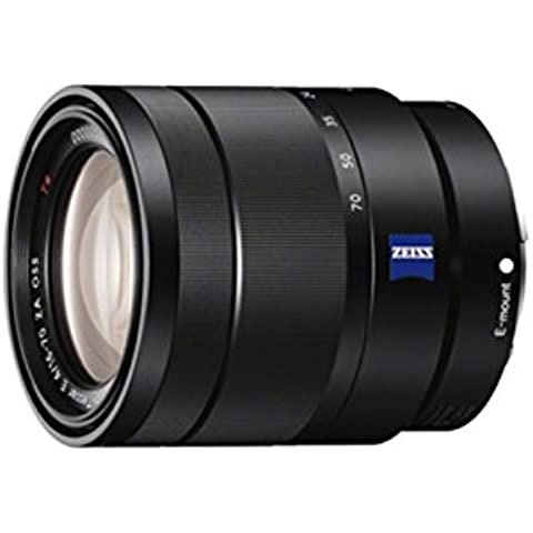 Sony SEL-1670 Vario-Tesslar T* E ZA OSS - Objetivo para Sony/Minolta (distancia focal 16-70mm, apertura f/4, estabilizador de imagen) color