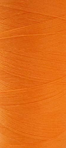 Coats Epic Nähfaden neon orange hell 1000 m - Rollen Allesnäher Stärke 120 (0,003 Euro/m) (Schere Nähmaschine Orange)