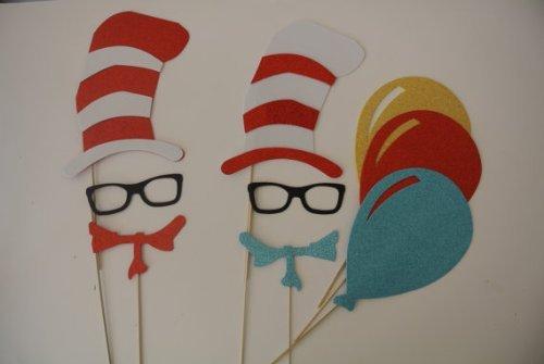 (Dr Seuss inspiriert Foto Booth Props)