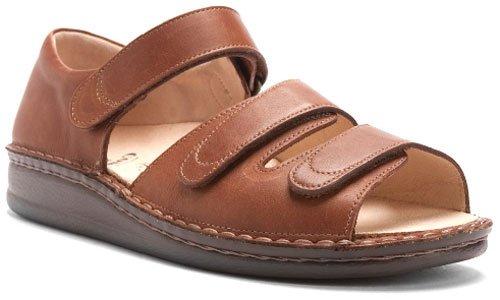 Finn Comfort  Baltrum, sandales mixte adulte Marron - nuss kansas