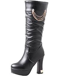 3da98fbbd591e Amazon.it  con - 34   Stivali   Scarpe da donna  Scarpe e borse
