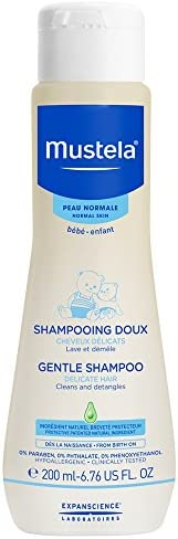 Mustela Baby Gentle Shampoo for Delicate Hair, 200 ml (MUSMUSC73028442)