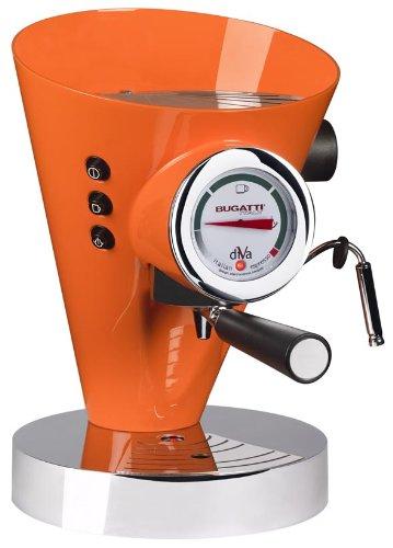 Bugatti DIVA - Espresso Machine Orange