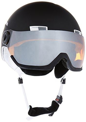 Alpina Menga JV - Casco da sci, colore: Bianco/Nero,...