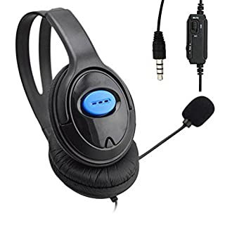 Awakingdemi Wired Gaming Headsets Headphones with Mic for PS4 Sony PlayStation 4 /PC