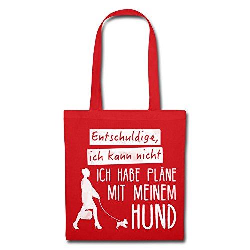 IchLiebeHunde.com, Borsa a tracolla donna Rot