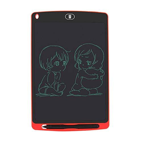 BENPAO LCD-Schreibtafel, elektronisches Schreib- und Zeichenbrett, Gekritzelbrett, Geschenkpapier zum Zeichnen für Kinder und Erwachsene zu Hause, in der Schule und im Büro (10,8 Zoll),Red