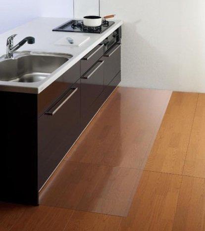 Bodenschutzmatte Bürostuhlunterlage Bodenmatte Stuhlunterlage Transparent Glasklar 100% ( 60 x 120 cm )